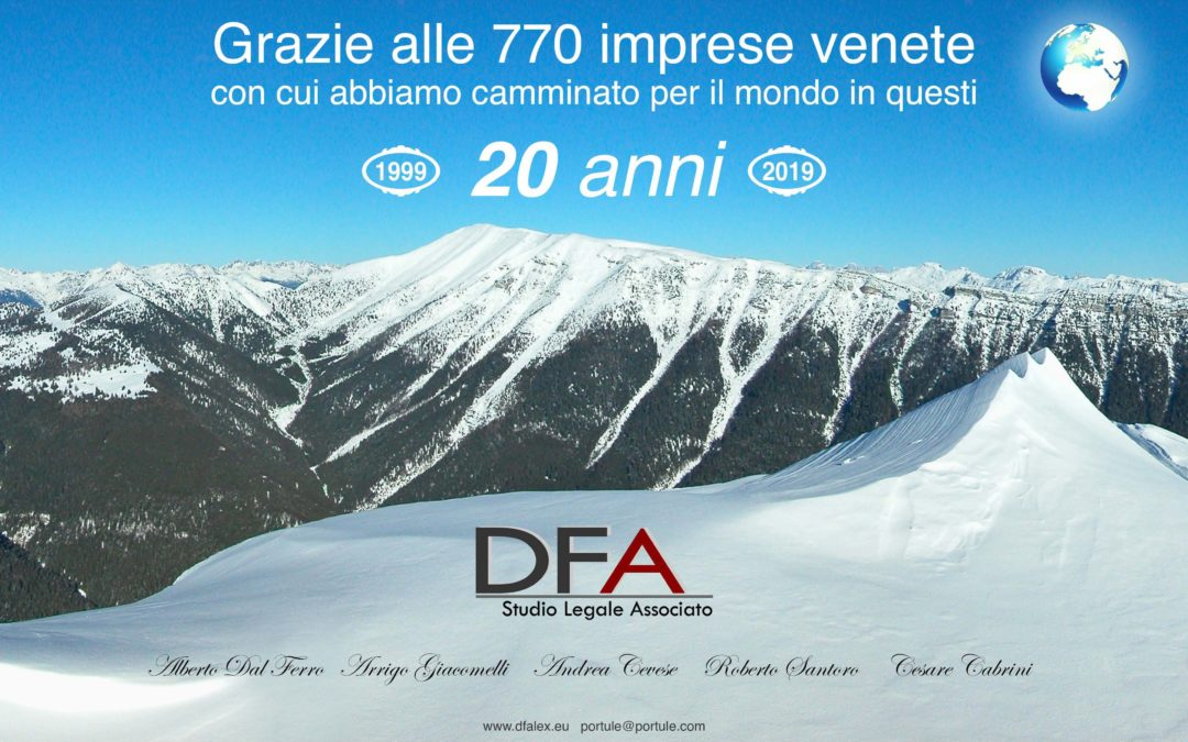 Happy Anniversary, DFA!