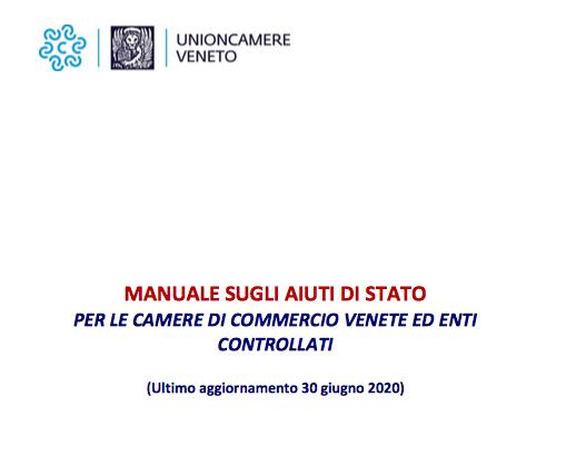 Pubblicato l'aggiornamento del Manuale sugli Aiuti di Stato